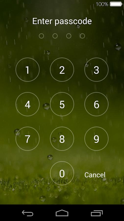 Lock Screen(live Wallpaper