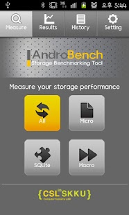 Androbench (Storage Benchmark) - screenshot thumbnail