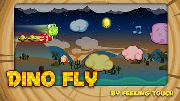 Screenshot of Dino Fly FREE