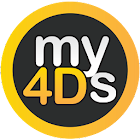 my4Ds - Malaysia Fastest 4d, Prediction, Statistic icon