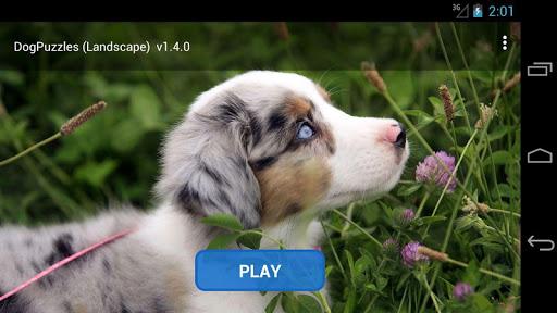 Dog Puzzles Landscape