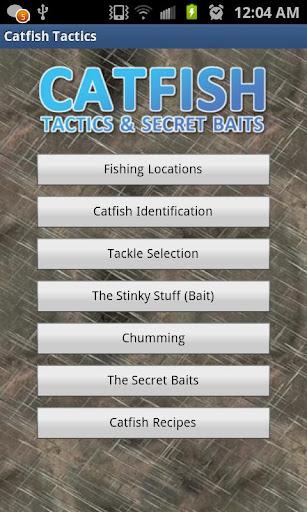 Catfish Tactics & Secret Baits  screenshots 1