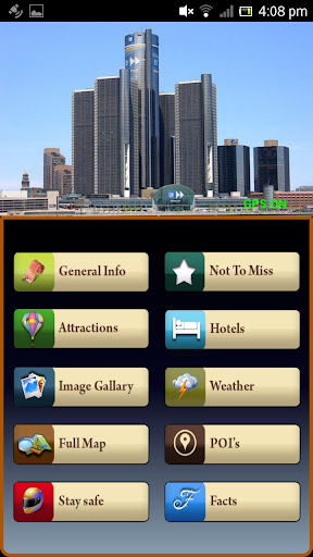 Detroit Offline Travel Guide