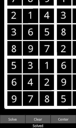 Free Sudoku Solver NUI