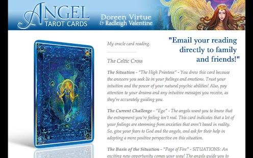 Angel Tarot Cards- screenshot thumbnail