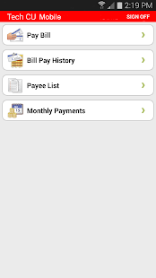 TechCU Mobile Banking - screenshot thumbnail