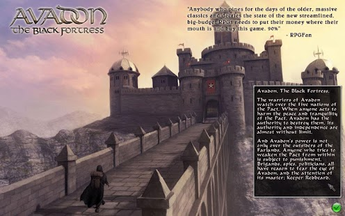 Avadon: The Black Fortress- screenshot thumbnail