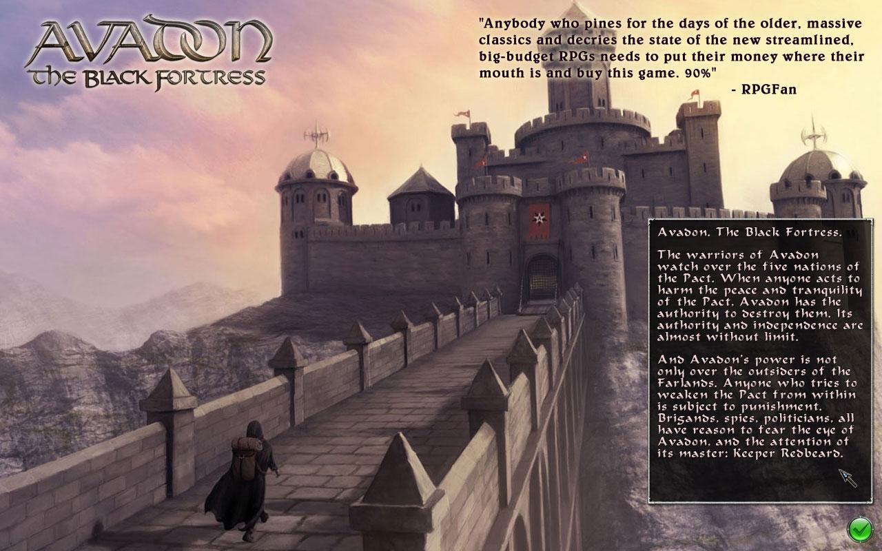 Avadon: The Black Fortress - screenshot