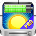 Solar Battery Charger PRO icon