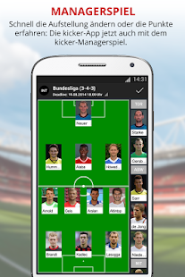 kicker Fußball News - screenshot thumbnail