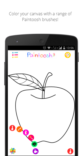 Paintoosh Draw, Paint & Color - screenshot