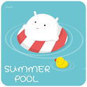 SummerPool GO LauncherEX Theme logo