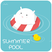 SummerPool GO LauncherEX Theme