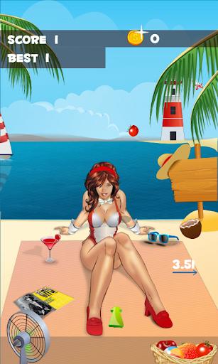 Beach Toss : Play with Shyna
