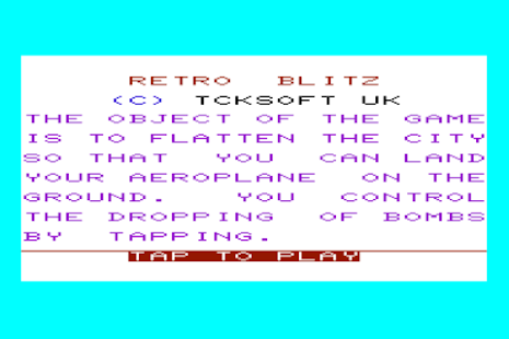 Retro Blitz- screenshot thumbnail