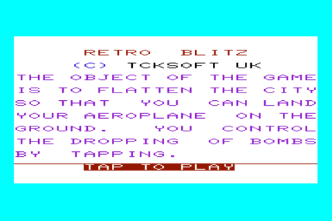 Retro Blitz- screenshot