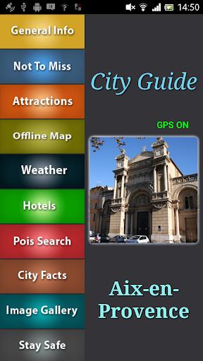 Aix-en-Provence Offline Guide