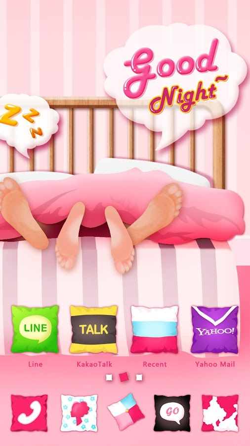 Good Night GO Launcher Theme- screenshot