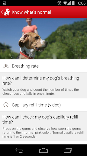 Pet First Aid - Red Cross 2.3.0 screenshots 2