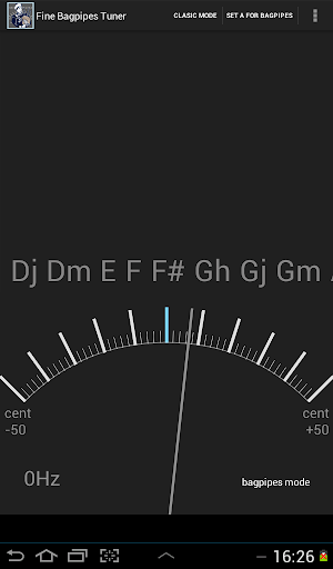 【免費音樂App】Fine Bagpipes Tuner-APP點子