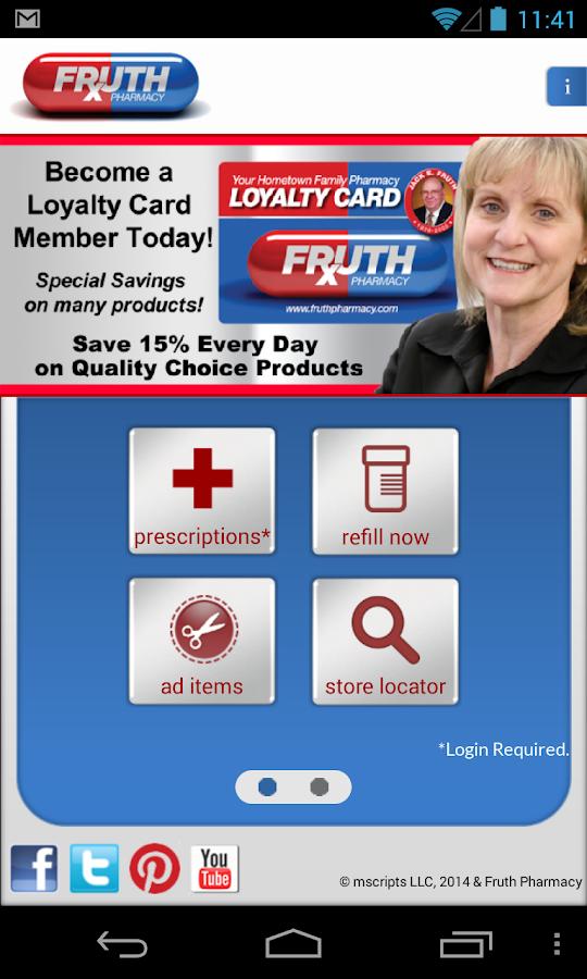 Fruth Pharmacy- screenshot