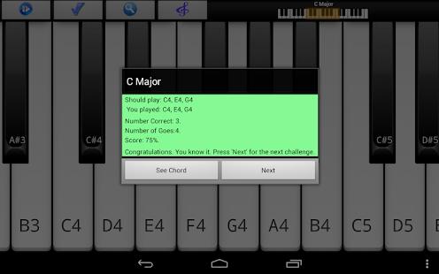 Piano Scales Chords Jam Free - screenshot thumbnail
