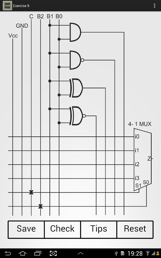 Combinational Circuits- screenshot