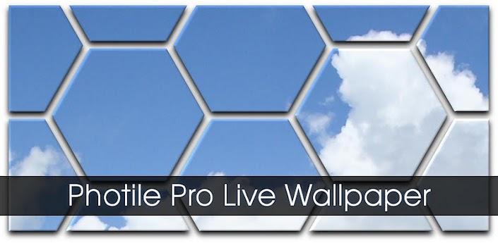 Photile Pro Live Wallpaper - живые обои в клеточку