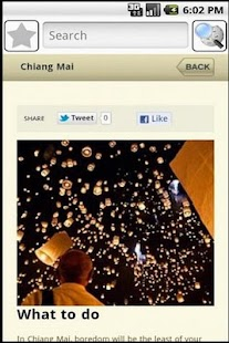 Chiang Mai Travel Guide- screenshot thumbnail