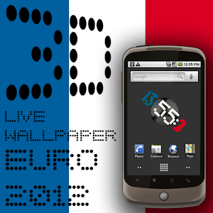 download 3D Clock FRANCE FLAG WALLPAPER apk