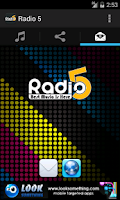 Screenshot of Radio 5