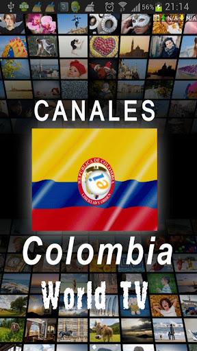 Canales de Colombia TV