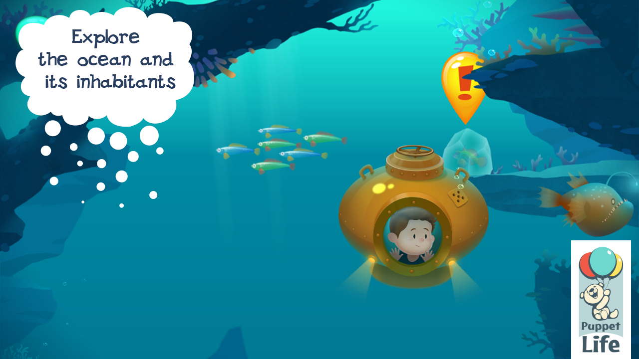 Explorium: Ocean for Kids Free - screenshot