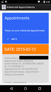 AIIMS@Delhi Official App- screenshot thumbnail