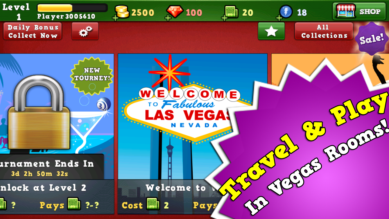 Bingo Vegas - screenshot