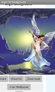 angel background - screenshot thumbnail