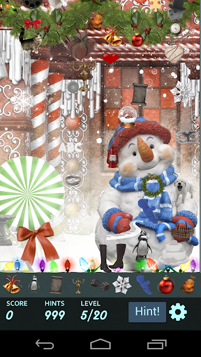 Hidden Object: July Christmas