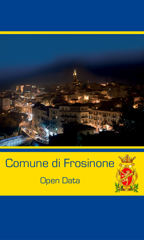 Frosinone OpenData- screenshot