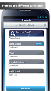 O2 Wallet - screenshot thumbnail