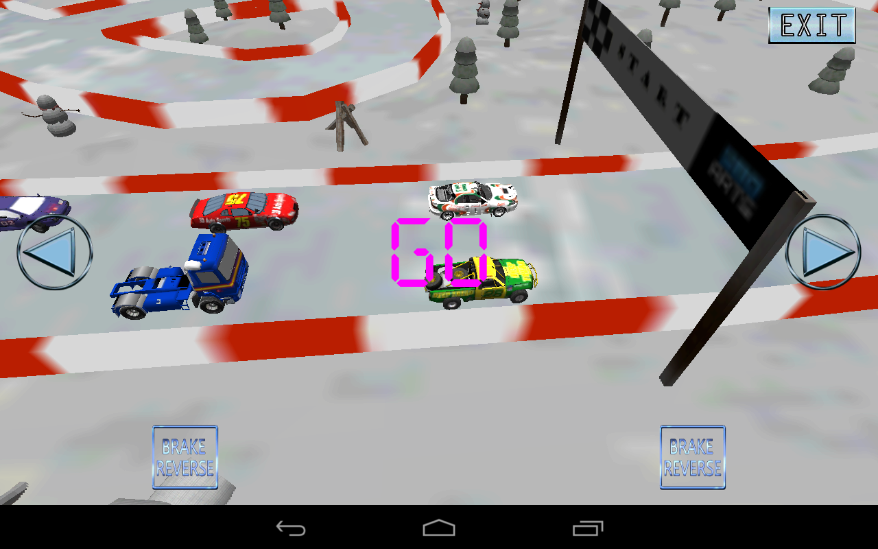 Turbo Skiddy Racing Pro- screenshot