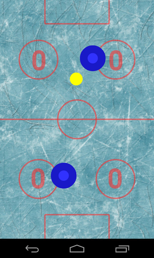 Resplendent Air Hockey- screenshot