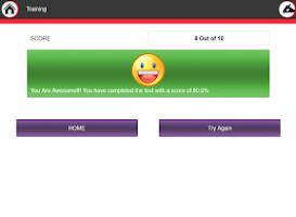 Screenshot of Aptitude Trainer
