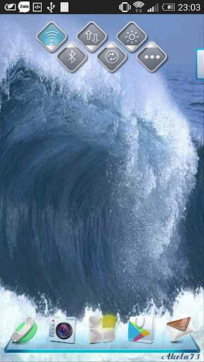 Sea Waves 3D Live Wallpaper