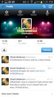 Screenshot of Followers+ for Twitter