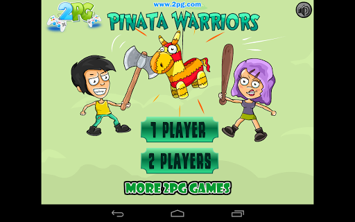 Pinata Warriors- 2 Player Game