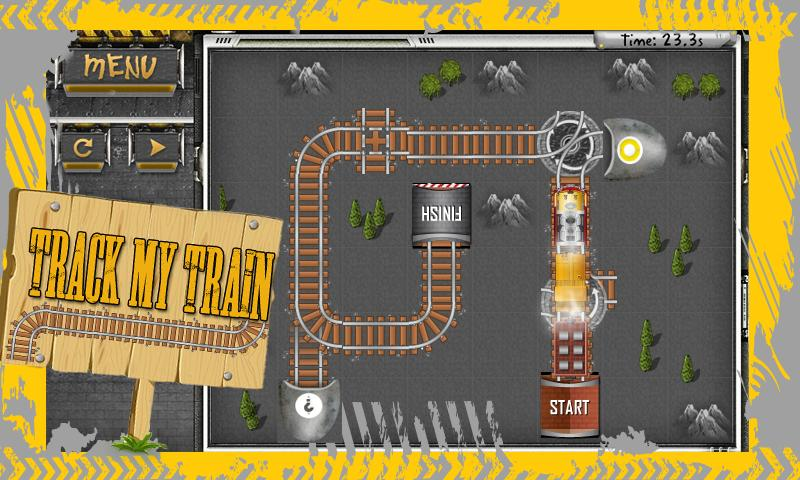 Track My Train- screenshot