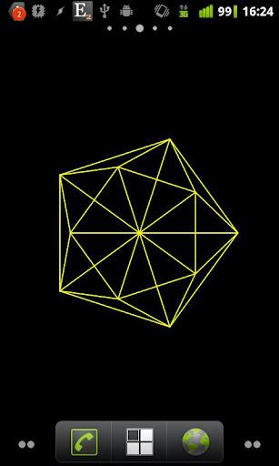 Geometric Shape Live Wallpaper  screenshots 1