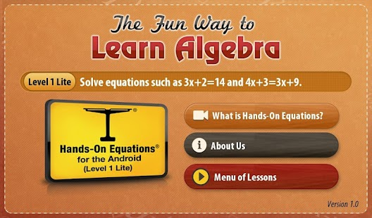 The Fun Way to Learn Algebra - screenshot thumbnail