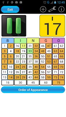 Bingo Line - screenshot