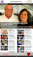 Screenshot of PG Reader by the Post-Gazette